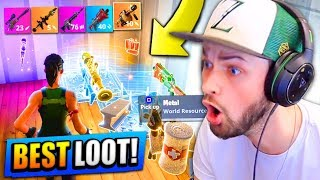 BEST LOOT EVER! (LEGENDARY WEAPONS!) - Fortnite: Battle Royale (Road to Rank #1) thumbnail