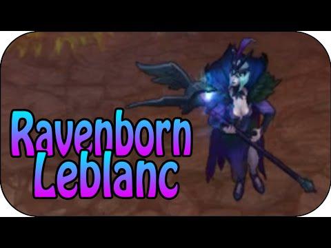 Ravenborn Leblanc Skin Spotlight Pre Release Skin Preview