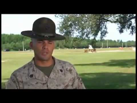 Marines Boot Camp  Behind the Scenes -  Meet the Drill Instructors Part 1
