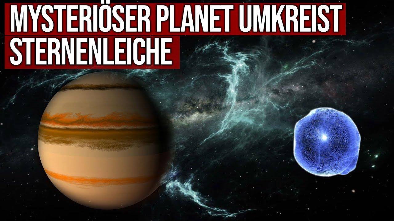 Mysteriöser Planet umkreist Sternenleiche