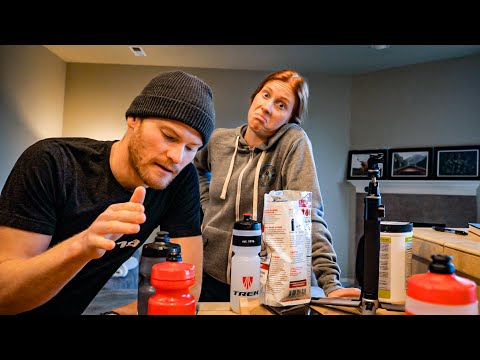 WHAT WE EAT IN A DAY: pro triathlete nutrition + diet