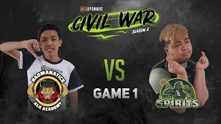 Badmanatics.AA vs Idle Spirits (BO3) Game 1 - Lupon Civil War: Season 2