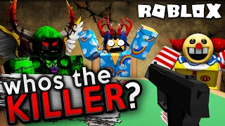 One of them is a MURDERER! (One person lives!) | Roblox