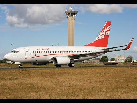 {60FPS} *X-Plane 11* Tbilisi [UGTB] To Moscow Vnukovo [UUWW] With Ortho4XP!