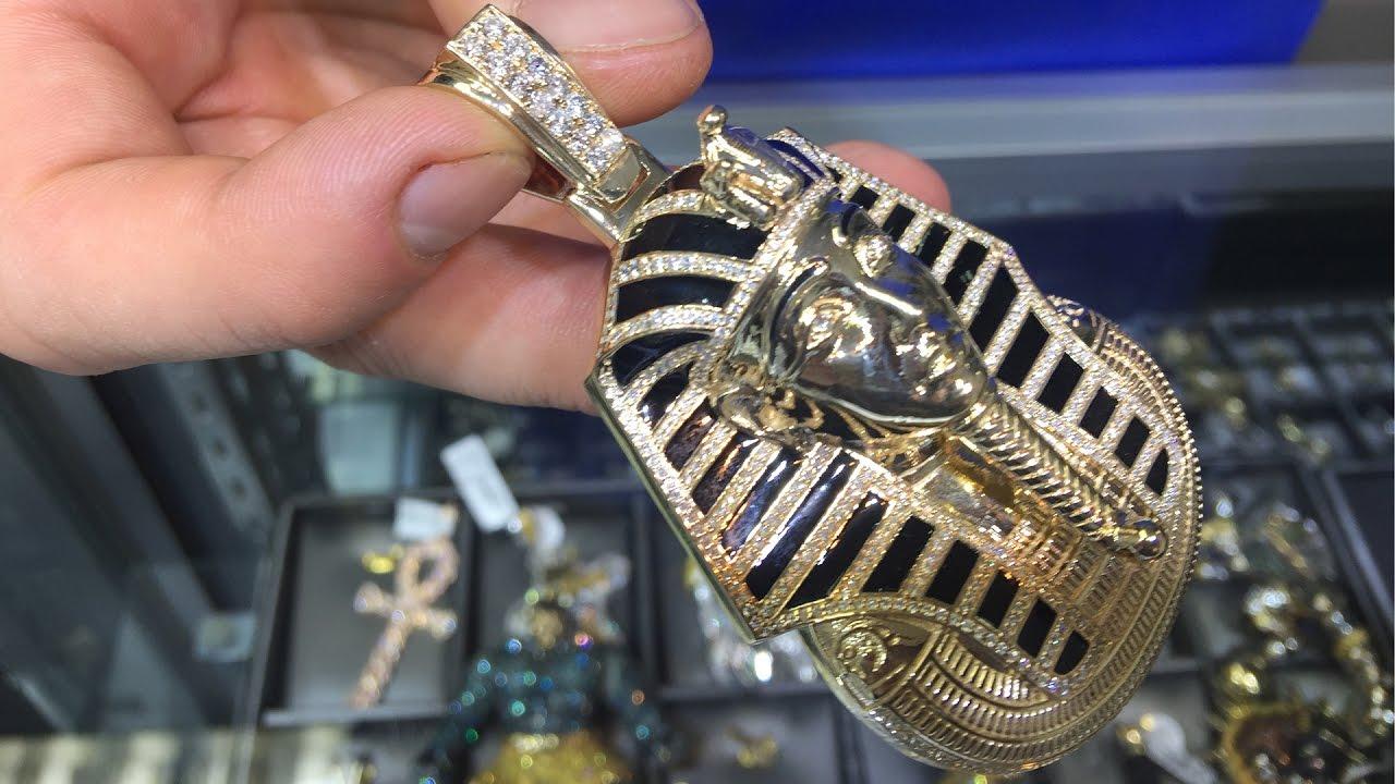 Traxnycs custom made pharaoh king tut pendant youtube traxnycs custom made pharaoh king tut pendant aloadofball Gallery
