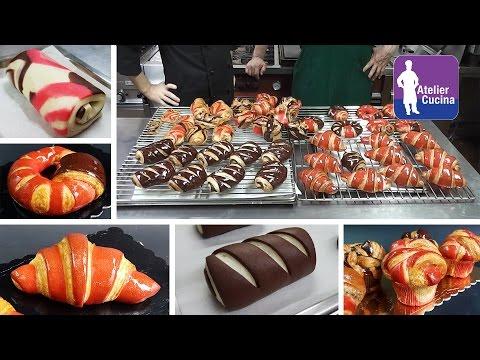 Croissant parigino e Pain au chocolat bicolore, Viennoiserie ricetta Mp3