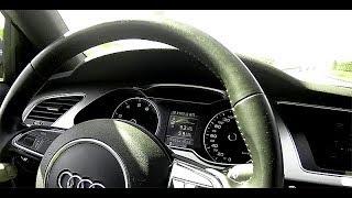 Audi A4 - расход топлива на трассе - М4 Дон 2017 (часть 2)