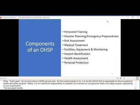Building a Research Occupational Health Program