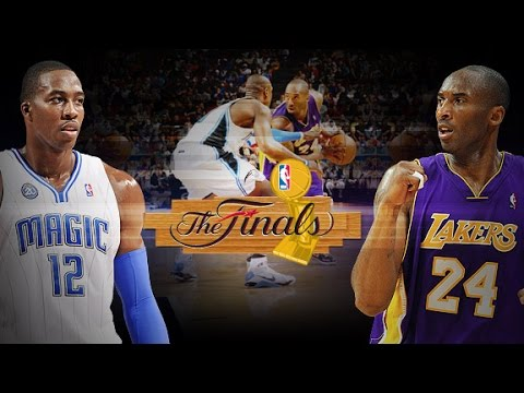 NBA Live 09 - Xbox 360 2008 (2009 NBA Finals LAL vs ORL)