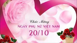 Thơ chúc mừng ngày phụ nữ Việt Nam 20  tháng 10
