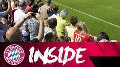 Behind-the-Scenes: Das öffentliche Training! ⚽ | Inside FC Bayern