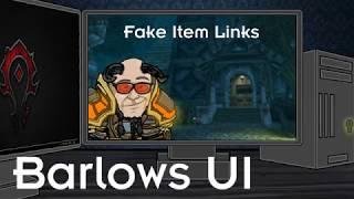 BUI: Fake Item Links