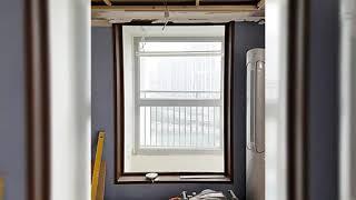 부산 아파트 거실 인테리어필름 시트지 시공 작업 미작필…