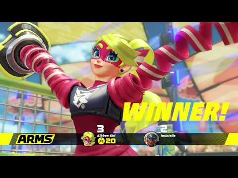 Be Prepared To Be Tied Up In Ribbon Girl's Wrath - Arms Gameplay (Grand Prix Part 4)