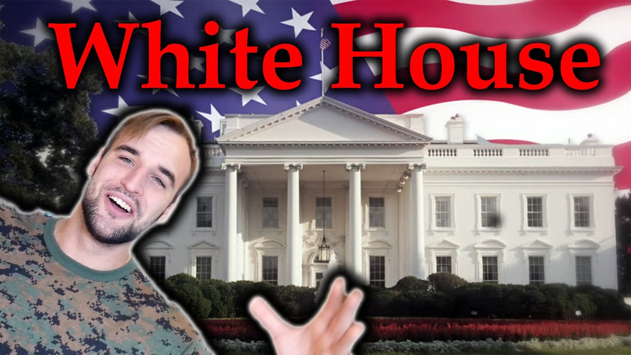 Estonian Soldier reacts to the White House