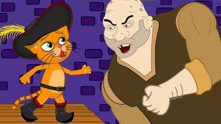 Kucing dalam Sepatu Bot cerita anak anak animasi kartun