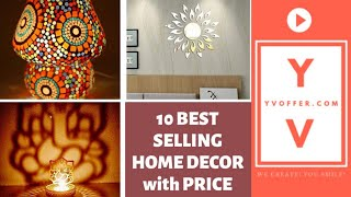 10 Best Selling Home Decor Ideas with Price 2019 on Amazon India