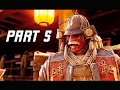 FOR HONOR Walkthrough Part 5 - BOSS FUJIKIYO (PS4 Pro Let's Play Gameplay Commentary)