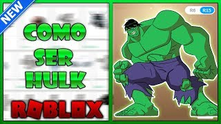 How to be HULK In Roblox Free without Robux!!