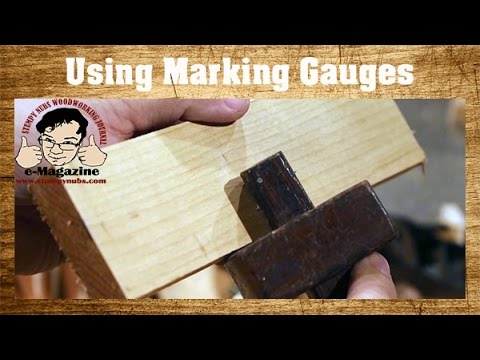 5 Types of Woodworking Marking Gauges, and How to Use Them