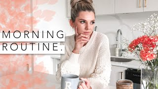 Fall Morning Routine!