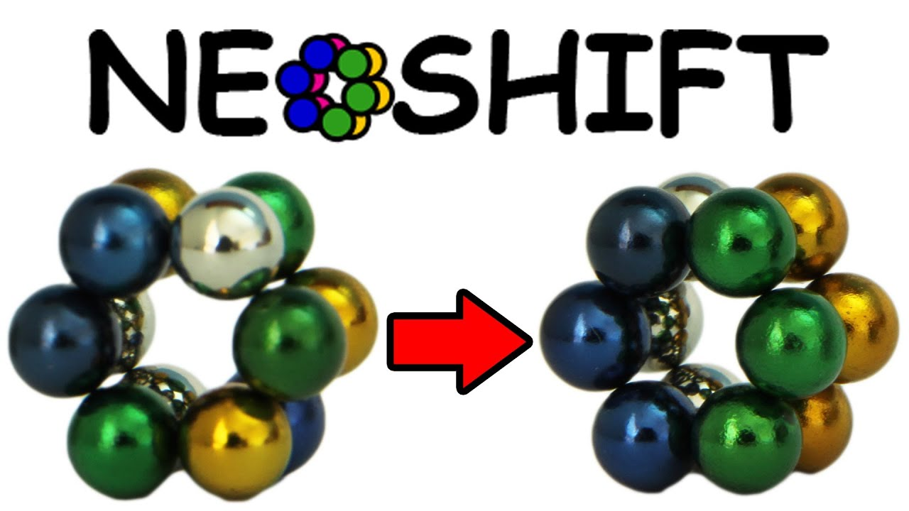 Working Shifting Puzzle with Neoballs/Zen Magnets - The Neoshift