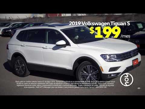 Volkswagen Tiguan 2019 $ 199 / mo Alquiler especial de mayo en Hoy Volkswagen El Paso