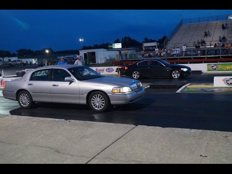11 Bmw 335i E92 Dinan S2 Vs 64 Year Old Lady In 03 Lincoln Town Car
