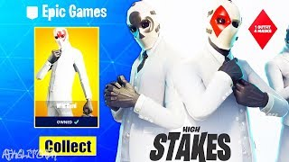 NEW Skin WILD CARD - Pick - Glider (High Risk Event/High Stakes)! Fortnite Battle Royale