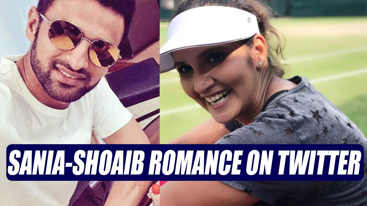 Sania Mirza engages in twitter romance with husband Shoaib Malik | Oneindia  News
