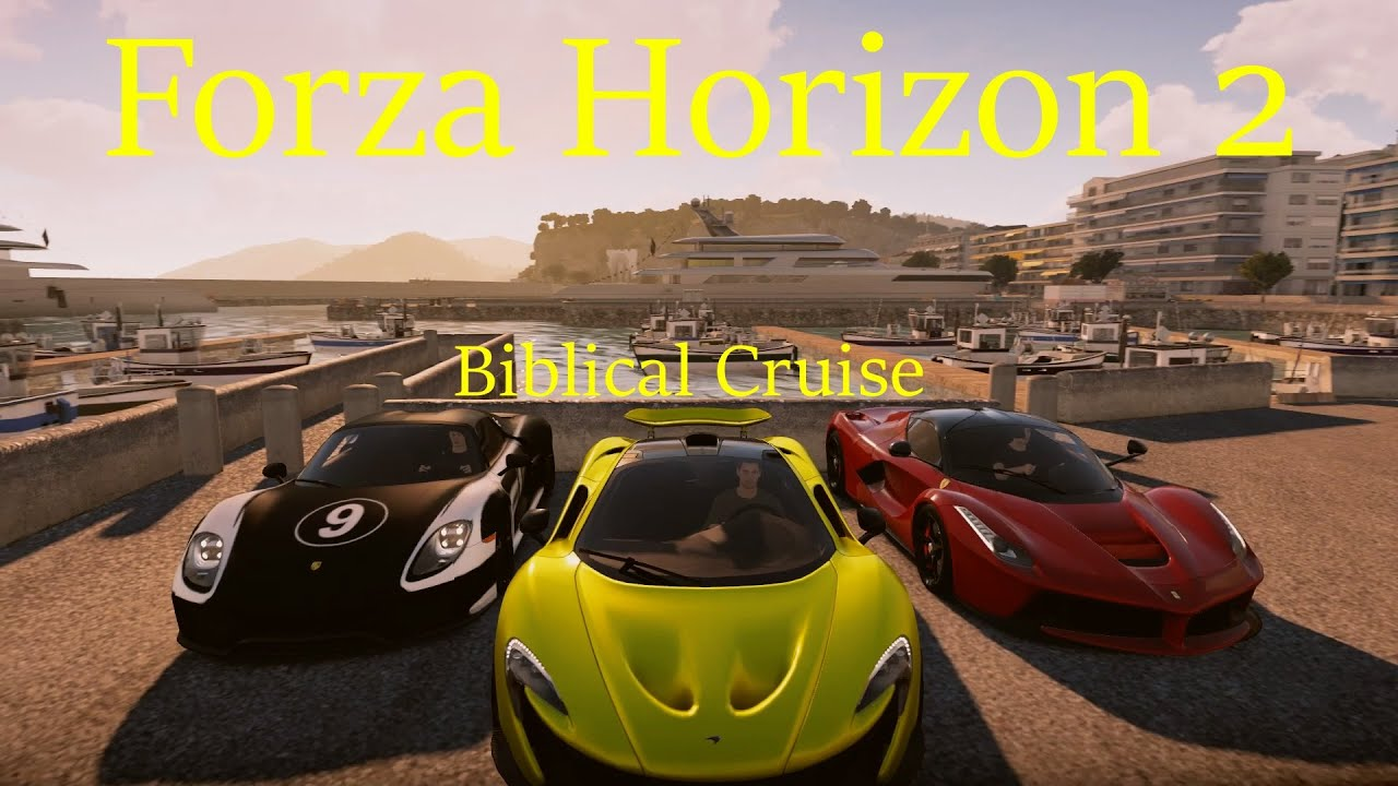 forza horizon 2 porsche 918 spyder mclaren p1 ferrari laferrari cruise youtube. Black Bedroom Furniture Sets. Home Design Ideas