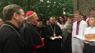 Славянск посетил кардинал из Ватикана