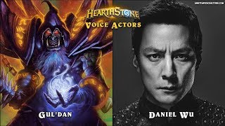 Hearthstone Characters Voice Actors Part 2