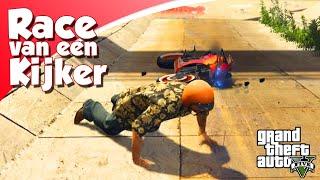 DEZE RACE IS FUNNY! (GTA V Online Race Van Een Kijker #3)