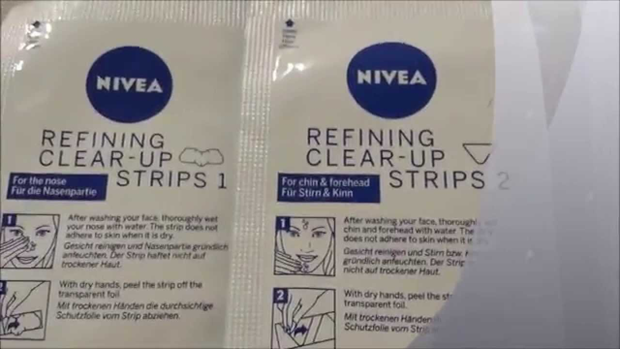 Pore strips nivea