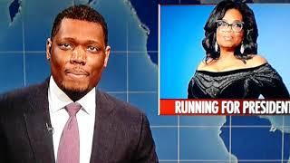 SNL: Oprah and Stedman interview on Weekend Update