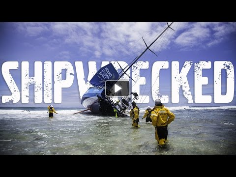 Race Yacht Crash Caught on Camera | Volvo Ocean Race 2014-15