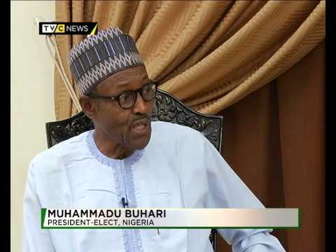 First Exclusive interview with Nigeria's President ...