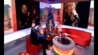 BBC Breakfast Show - Led Zeppelin Reunion Concert