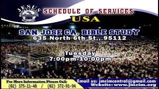 Please Watch!!! JMCIM Central Live Streaming of WEDNESDAY MIDWEEK SERVICE | OCTOBER 30, 2019.