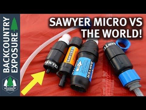 Sawyer Micro Squeeze - Comparison To Sawyer Mini and Sawyer Squeeze