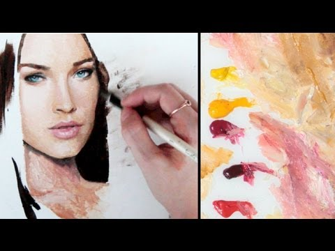How To Make Flesh Tone With Acrylic Paint