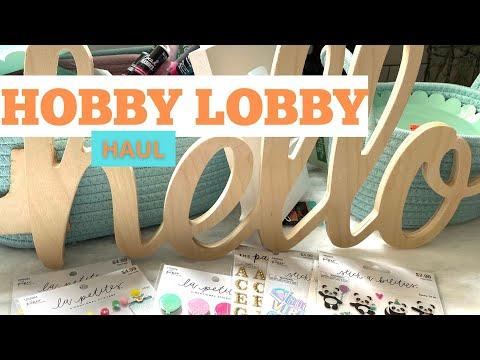 HOBBY LOBBY HAUL | COME SEE !!