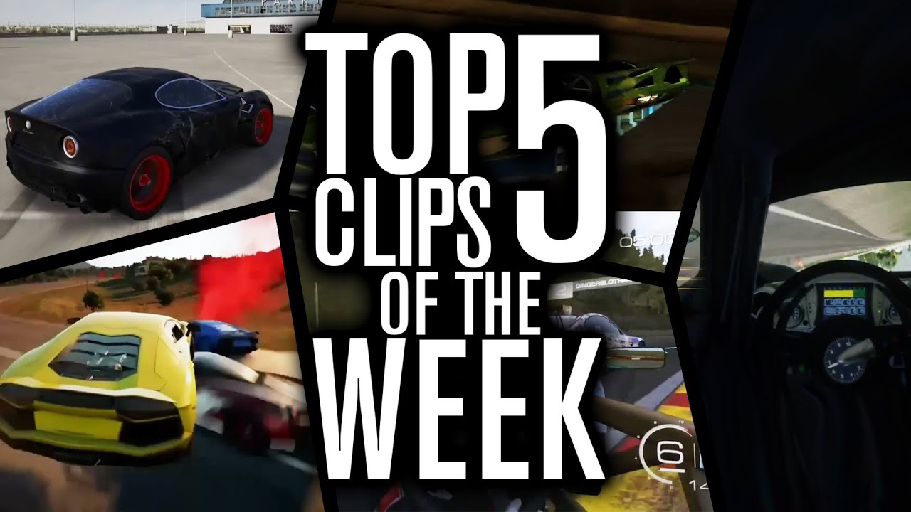 Top 5 Clips of the Week #5   INSANE OVERTAKES! - YouTube