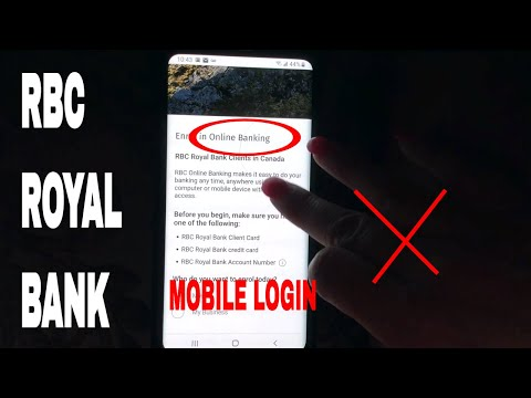 ✅  RBC Royal Bank Register - Login - Find Password 🔴