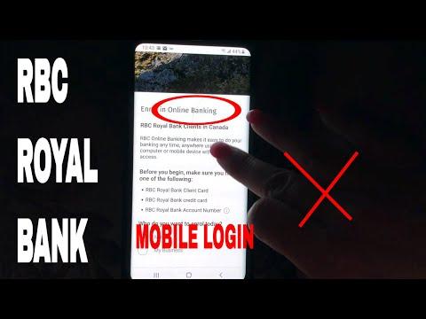 ✅  RBC Royal Bank Register - Login - Find Password 🔴