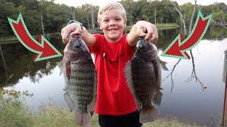 The Secret to Catching Monster Tilapia! {Catch, Clean, and Cook}
