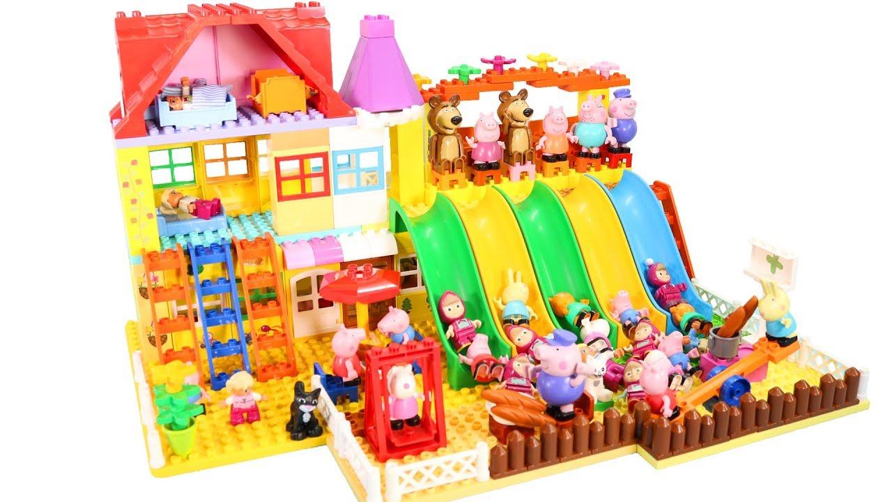 Lego Duplo. Дом для семьи (5639). - YouTube