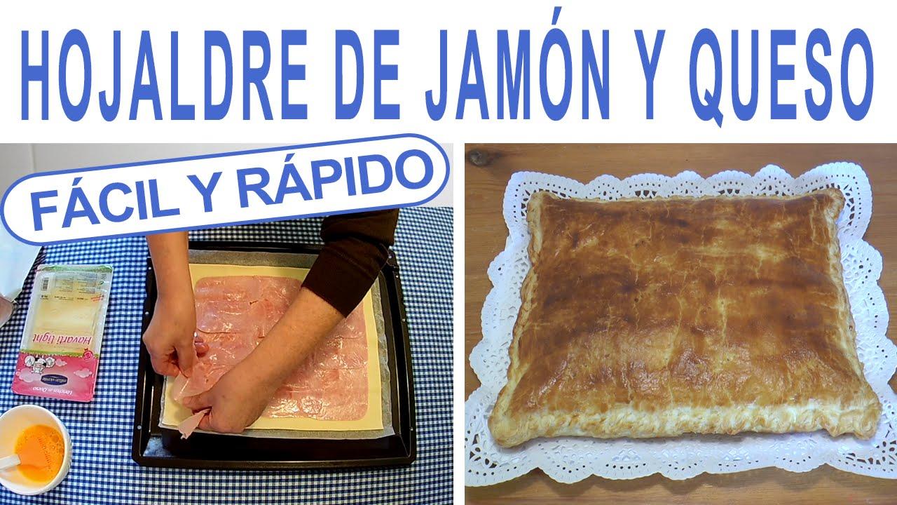 Hojaldre de jam n y queso receta para estudiantes de for Solomillo al horno facil y rapido