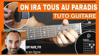 """Michel Polnareff """"On ira tous au paradis"""" Tuto Guitare"""